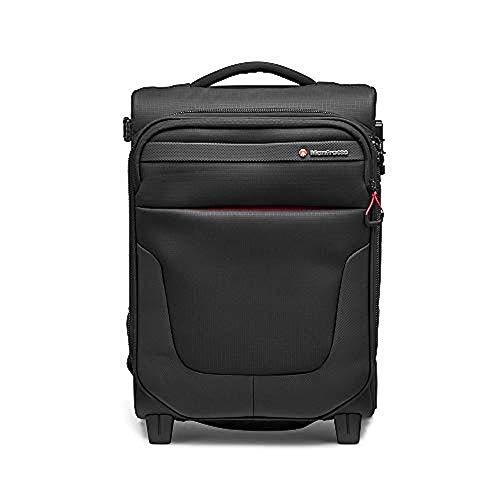 """Manfrotto MB PL-RL-A50 Reloader Air 50 Professionelle Foto-Rolltasche für DSLR, Reflex, CSC Premium Kameras, Trolly für bis zu 2 Kameras und Objektive, mit einer 15"""" Tasche für PC und Dokumententasche"""