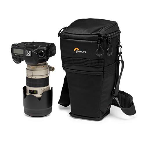 Lowepro ProTactic TLZ 75 AW DSLR-Toploader, verlängerbar für Objektiv bis zu 70-200 mm f/2.8 samt Gegenlichtblende, für DSLR wie Canon 5D - LP37279-PWW