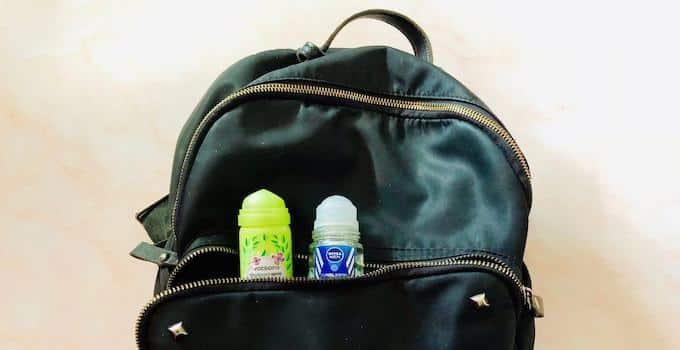 Deodorant im Handgepäck