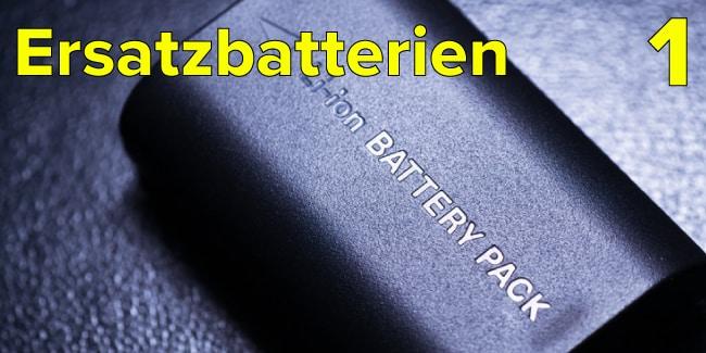 Bild zeigt eine Lithium-Ionen-Batterie auf einem schwarzen Hintergrund