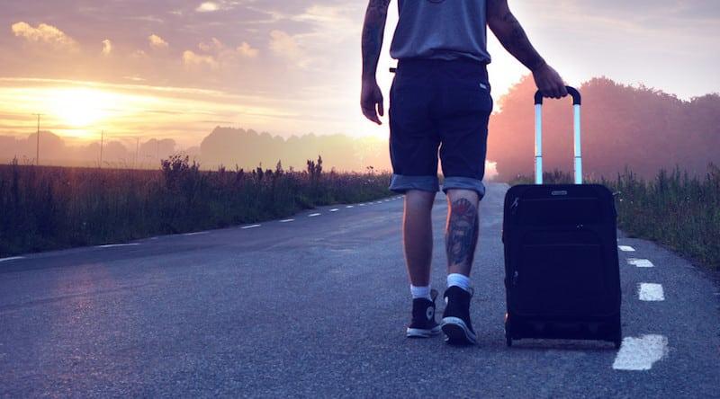Ein leichter Koffer