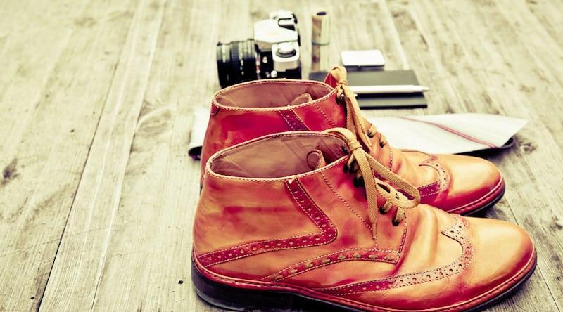 Platz in Schuhen