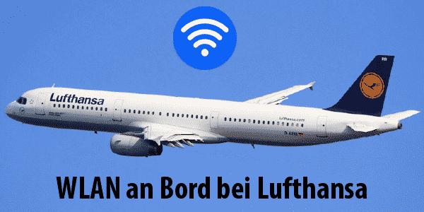 WLAN auf Lufthansa-Flügen