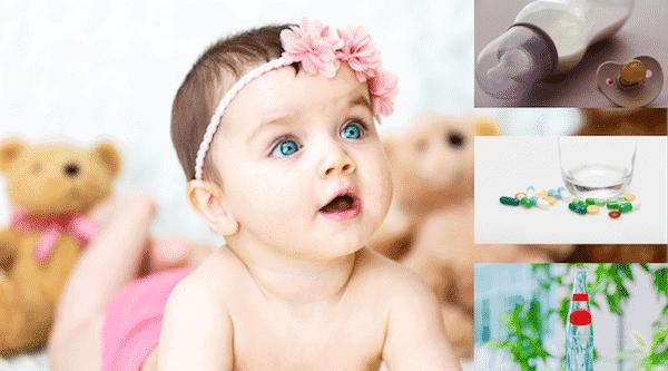 Babynahrung Flüssigkeiten Medikamente