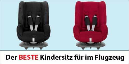 Der beste Kindersitz für im Flugzeug