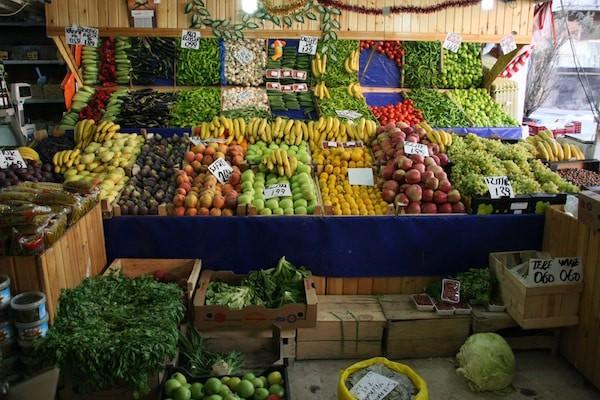 Früchtemarkt in der Türkei