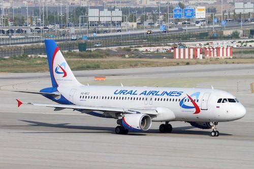 A320 aus der Flugzeugflotte von Ural Airlines