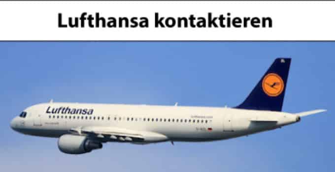Mit Lufthansa in Kontakt treten