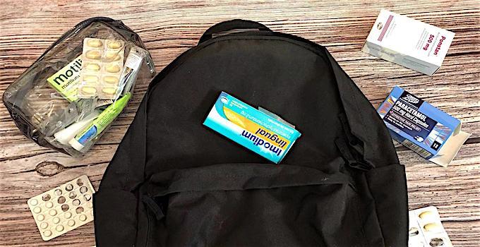 Tabletten im Handgepäck transportieren