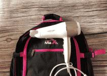 Föhn im Handgepäck