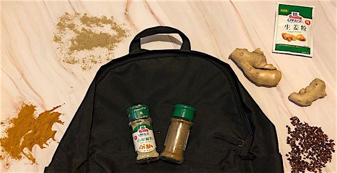 Gewürze im Handgepäck
