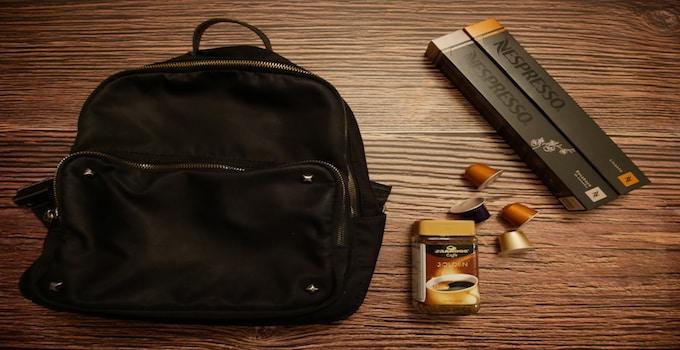 Kaffee im Handgepäck
