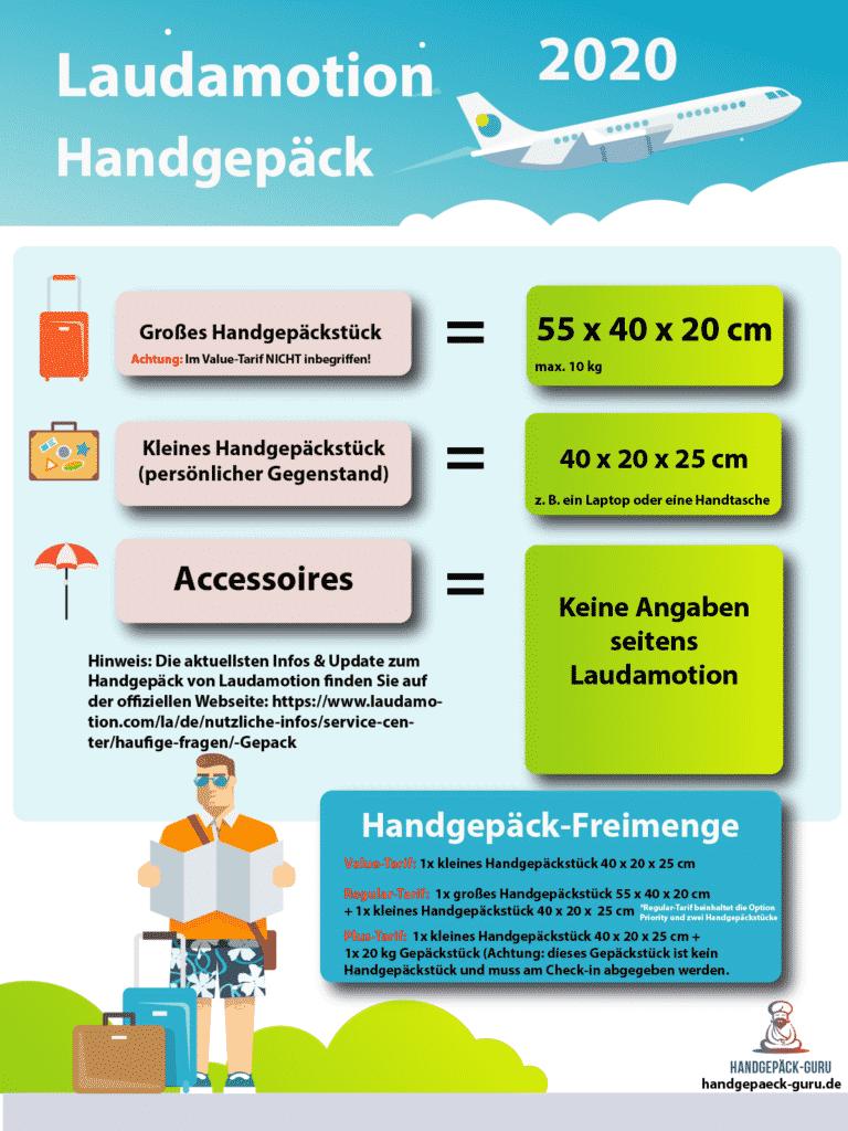 Laudamotion Handgepäck 2020