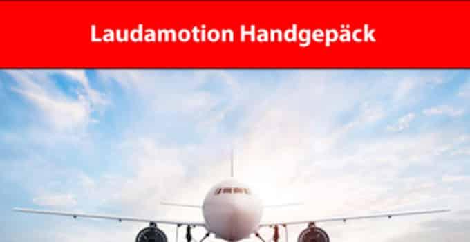 Laudamotion Handgepäckregeln