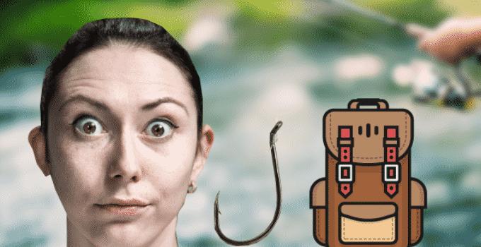 Angelruten und Zubehör im Handgepäck