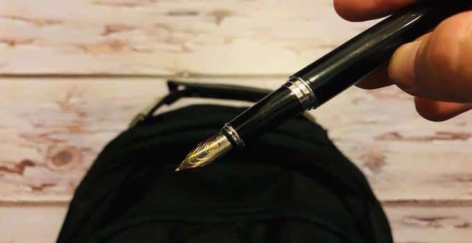 Füller im Handgepäck