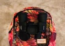 Fernglas im Handgepäck