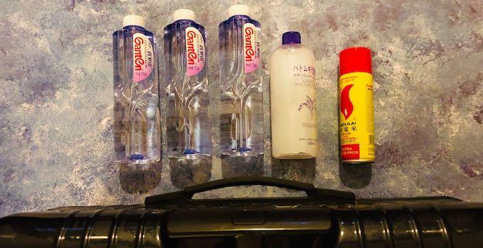 Flüssigkeiten im Aufgabegepäck