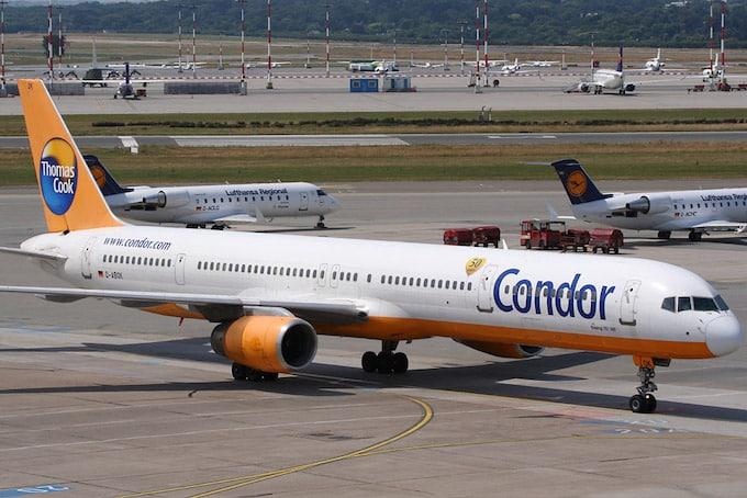 Mit Condor Kontakt aufnehmen