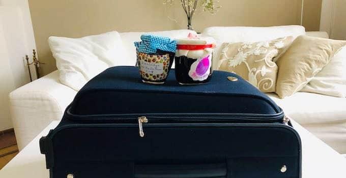 Marmelade im Handgepäck