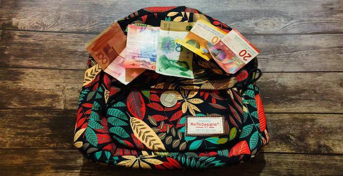 Bargeld im Handgepäck
