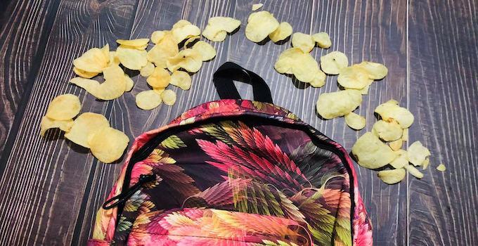 Chips im Handgepäck