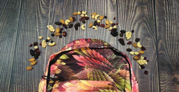 Nüsse im Handgepäck