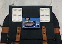 Paracetamol im Handgepäck