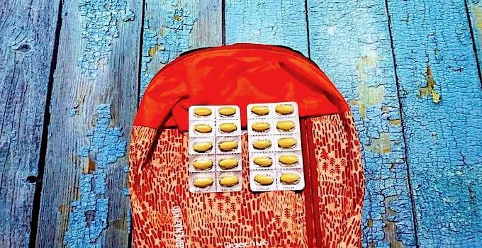 Antibiotika im Handgepäck