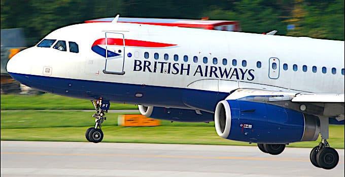 British Airways Handgepäck
