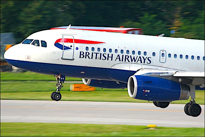 British Airways Handgepäck