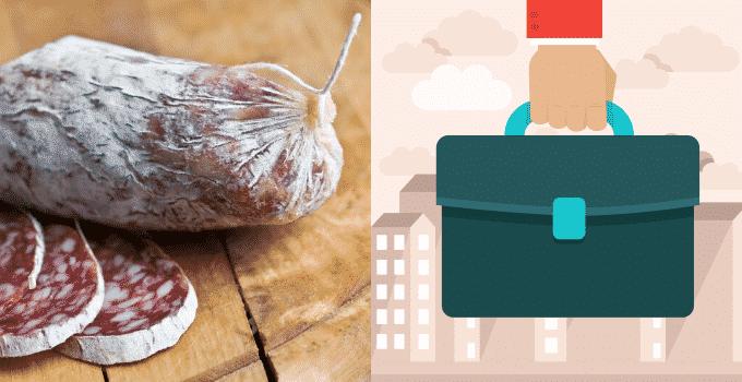 Salami im Handgepäck