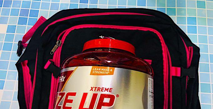 Supplements im Handgepäck
