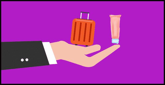 Salbe im Handgepäck