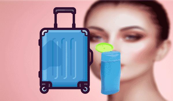 Duschmittel im Handgepäck